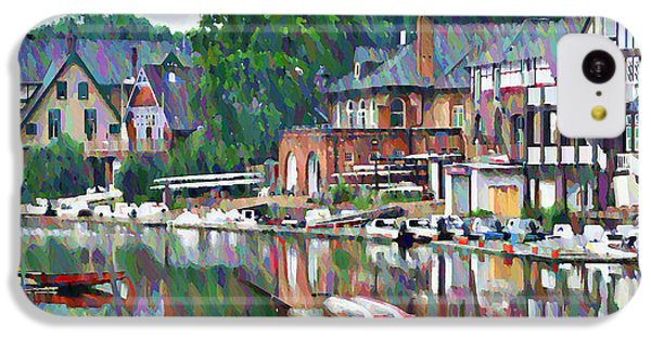 Boathouse Row In Philadelphia IPhone 5c Case