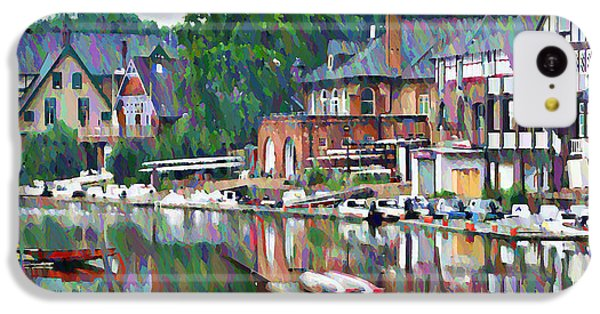 Boathouse Row In Philadelphia IPhone 5c Case by Bill Cannon