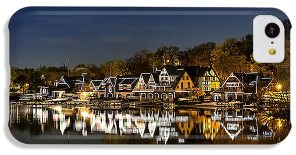 Boathouse Row IPhone 5c Case