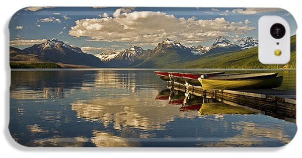 Boats At Lake Mcdonald IPhone 5c Case