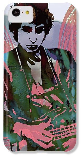 Bob Dylan Modern Etching Art Poster IPhone 5c Case by Kim Wang