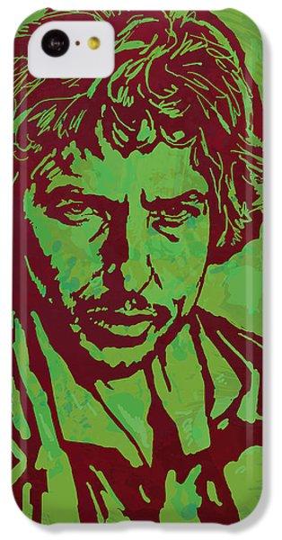 Bob Dylan Pop Art Poser IPhone 5c Case by Kim Wang