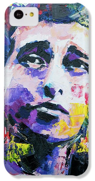 Bob Dylan Portrait IPhone 5c Case by Richard Day