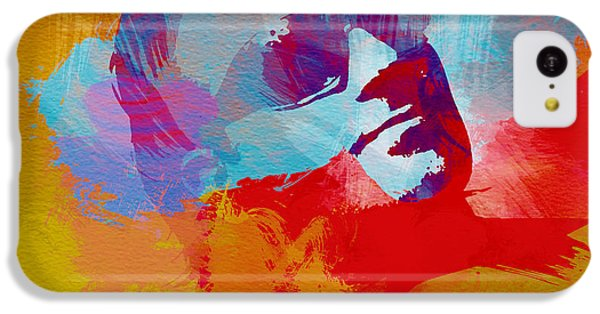 Bono iPhone 5c Case - Bono U2 by Naxart Studio