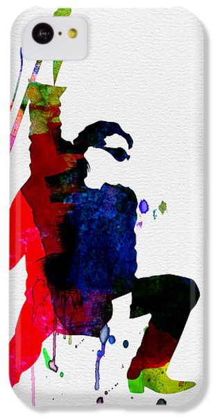 Bono iPhone 5c Case - Bono Watercolor by Naxart Studio