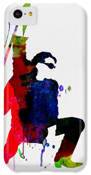 Jazz iPhone 5c Case - Bono Watercolor by Naxart Studio