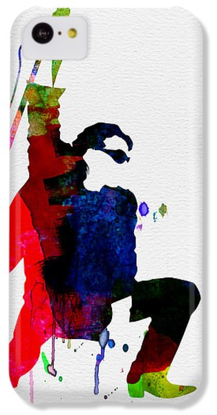 Bono Watercolor IPhone 5c Case by Naxart Studio