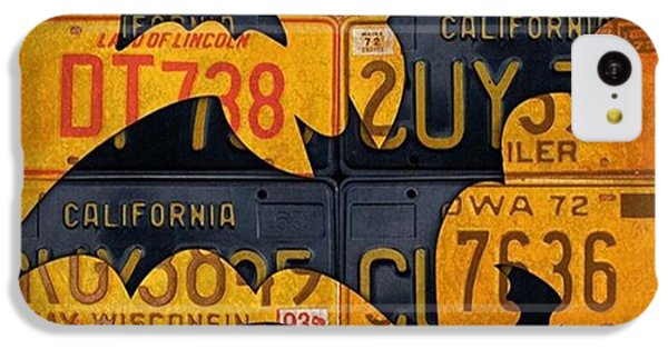 #boo  @fineartamerica #licenseplates IPhone 5c Case
