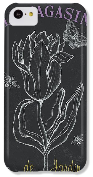 Tulip iPhone 5c Case - Bortanique 4 by Debbie DeWitt