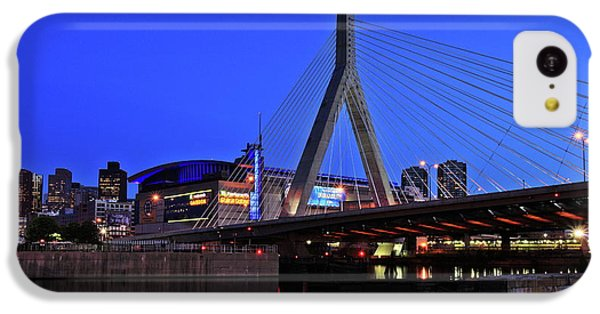 Boston Garden And Zakim Bridge IPhone 5c Case by Rick Berk