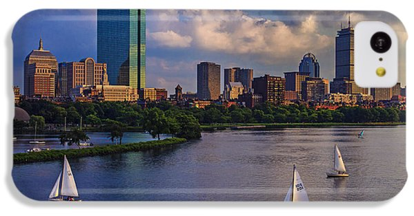 Boston Skyline IPhone 5c Case