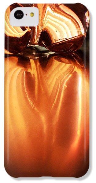 Bottle Reflection - Abstract Colorful Art Square Format IPhone 5c Case