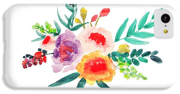 Bouquet Chic IPhone 5c Case by Rasirote Buakeeree