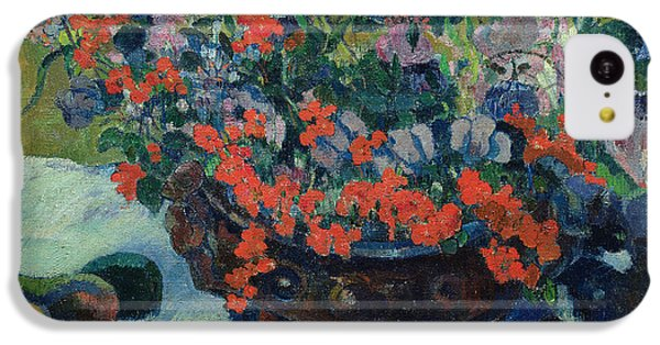 Bouquet Of Flowers IPhone 5c Case by Paul Gauguin