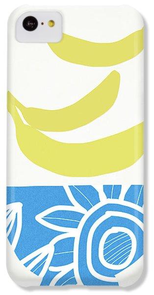 Fruit Bowl iPhone 5c Case - Bowl Of Bananas- Art By Linda Woods by Linda Woods