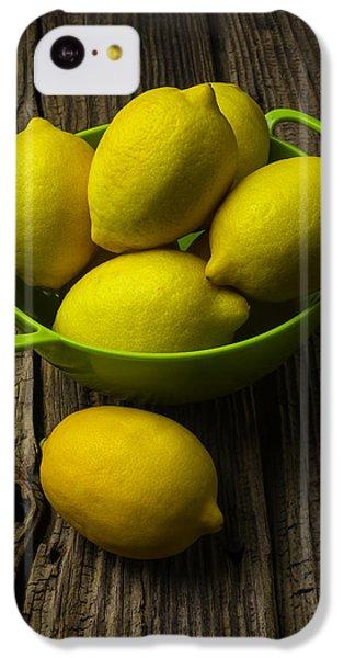 Bowl Of Lemons IPhone 5c Case