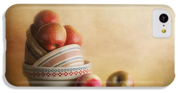 Fruit Bowl iPhone 5c Case - Bowls And Apples Still Life by Tom Mc Nemar