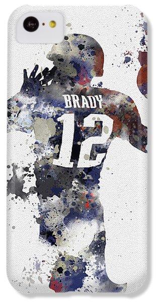 Brady IPhone 5c Case by Rebecca Jenkins