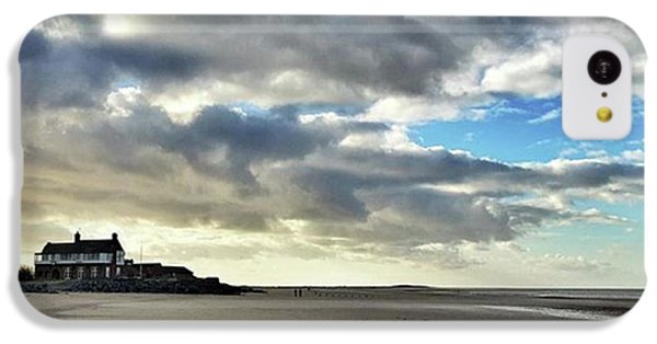 Brancaster Beach This Afternoon 9 Feb IPhone 5c Case by John Edwards