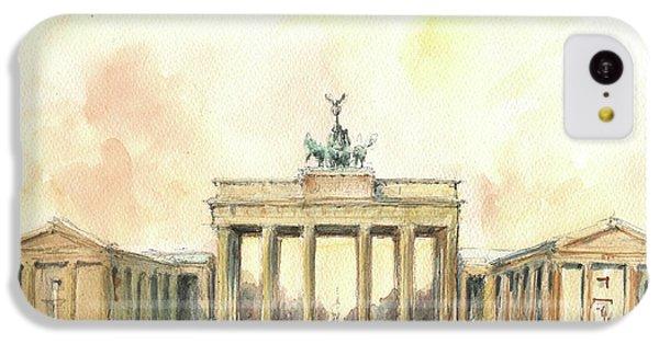Brandenburger Tor, Berlin IPhone 5c Case by Juan Bosco