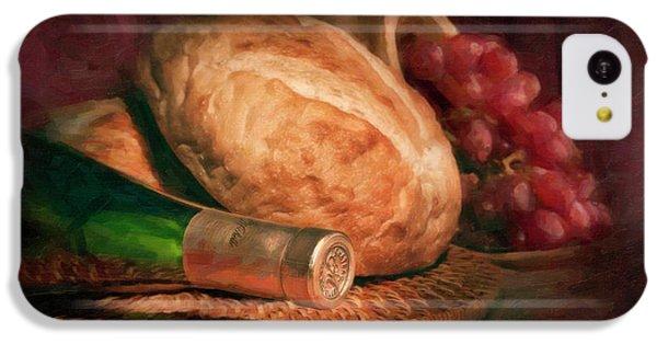 Bread And Wine IPhone 5c Case by Tom Mc Nemar