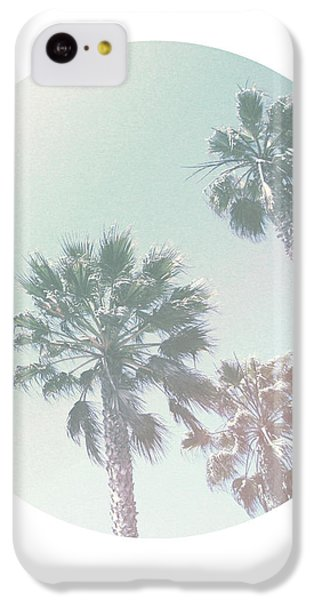 Breezy Palm Trees- Art By Linda Woods IPhone 5c Case by Linda Woods