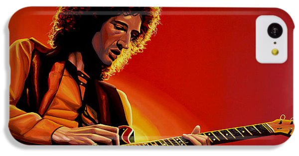 Brian May Of Queen Painting IPhone 5c Case