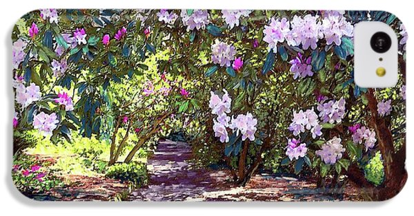 Los Angeles iPhone 5c Case - Bright And Beautiful Spring Blossom by Jane Small