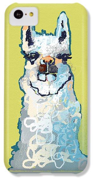 Bright Mustard Llama IPhone 5c Case
