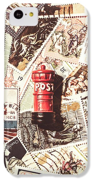 IPhone 5c Case featuring the photograph British Post Box by Jorgo Photography - Wall Art Gallery