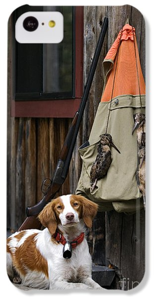 Brittany And Woodcock - D002308 IPhone 5c Case by Daniel Dempster