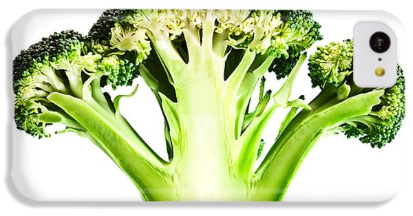 Broccoli Cutaway On White IPhone 5c Case