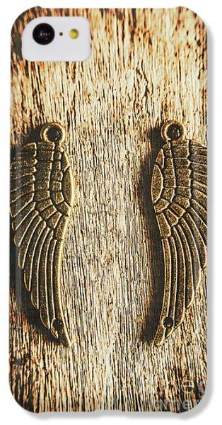 Bronze Angel Wings IPhone 5c Case