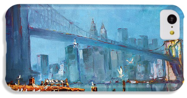 Brooklyn Bridge IPhone 5c Case by Ylli Haruni