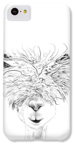 Llama iPhone 5c Case - Bruce by K Llamas