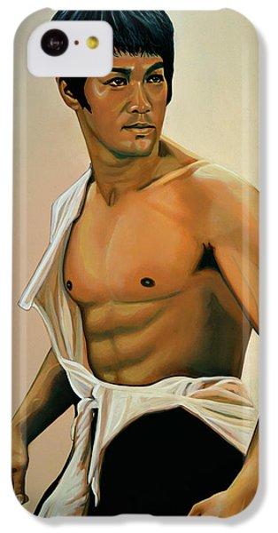Bruce Lee Painting IPhone 5c Case