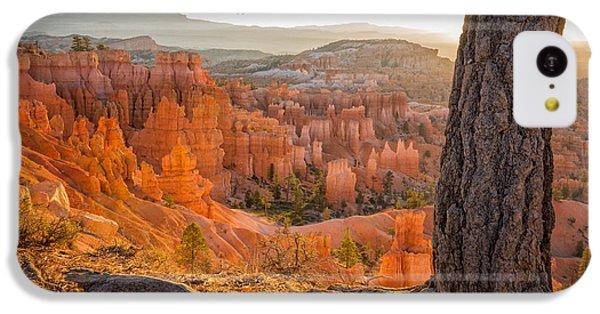 Beautiful Sunrise iPhone 5c Case - Bryce Canyon National Park Sunrise 2 - Utah by Brian Harig