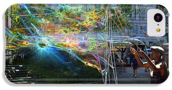 Bubble Maker Collage 1 IPhone 5c Case