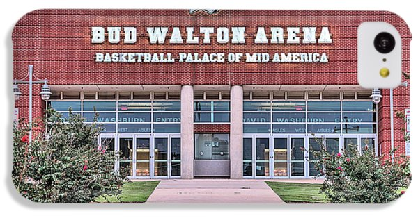 Bud Walton Arena IPhone 5c Case by JC Findley
