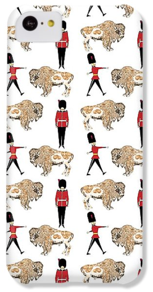 Buffalo Soldier IPhone 5c Case by Beth Travers