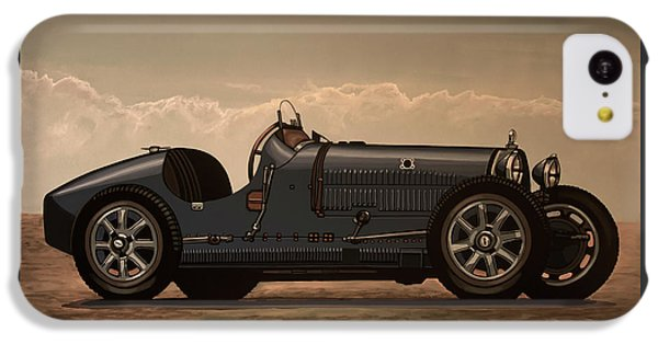 Car iPhone 5c Case - Bugatti Type 35 1924 Mixed Media by Paul Meijering
