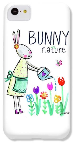 Bunny Nature IPhone 5c Case
