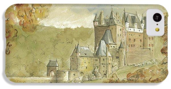 Burg Eltz Castle IPhone 5c Case by Juan Bosco