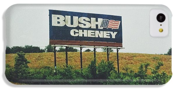 Bush Cheney 2011 IPhone 5c Case by Dylan Murphy
