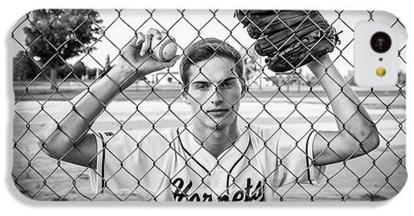 IPhone 5c Case featuring the photograph Caged Competitor by Bill Pevlor
