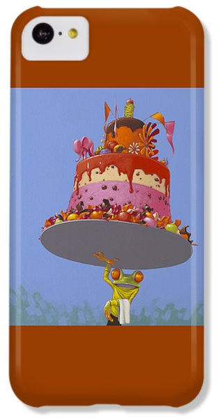 Frogs iPhone 5c Case - Cake by Jasper Oostland