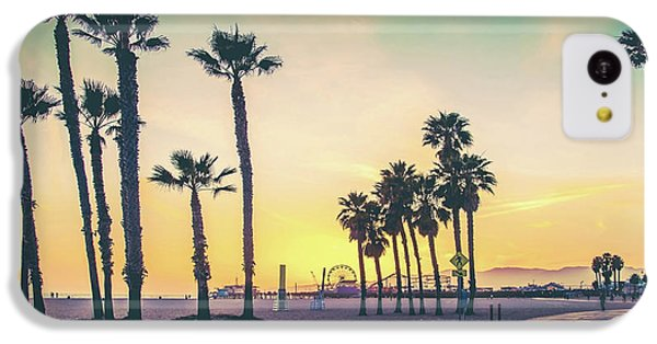 Cali Sunset IPhone 5c Case by Az Jackson