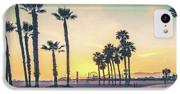 Santa Monica iPhone 5c Case - Cali Sunset by Az Jackson