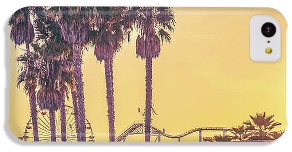 Santa Monica iPhone 5c Case - Cali Vibes by Az Jackson