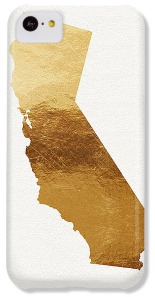 California Gold- Art By Linda Woods IPhone 5c Case by Linda Woods